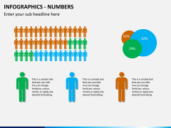 Infographic numbers PPT slide 14