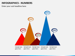 Infographic numbers PPT slide 15