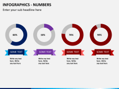 Infographic numbers PPT slide 4