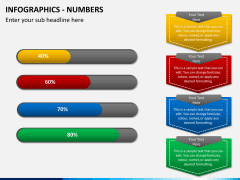 Infographic numbers PPT slide 7