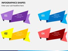 Infographic shapes PPT slide 20