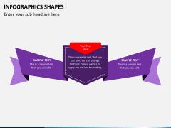Infographic shapes PPT slide 22