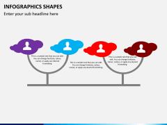 Infographic shapes PPT slide 35