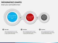 Infographic shapes PPT slide 36