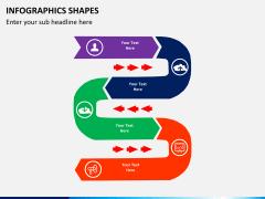 Infographic shapes PPT slide 38