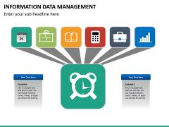 Information data management PPT slide 7