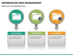 Information data management PPT slide 8