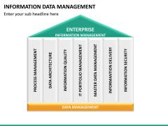 Information data management PPT slide 9