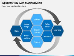 Information data management PPT slide 1