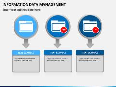 Information data management PPT slide 3