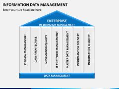 Information data management PPT slide 4