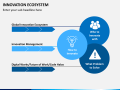 Innovation ecosystem PPT slide 2