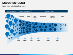 Innovation funnel PPT slide 1