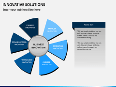 Innovative solutions PPT slide 2