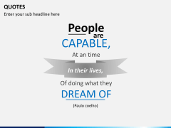 Inspirational quotes PPT slide 14