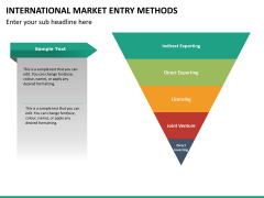 International Market entry methods PPT slide 29