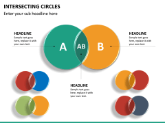 Intersecting circles PPT slide 12