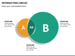 Intersecting circles PPT slide 13