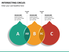 Intersecting circles PPT slide 14