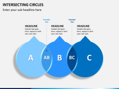 Intersecting circles PPT slide 4