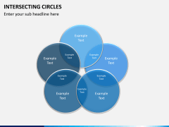 Intersecting circles PPT slide 6