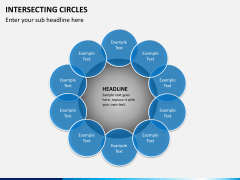 Intersecting circles PPT slide 8