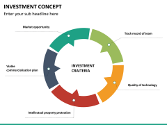 Investment concept PPT slide 14