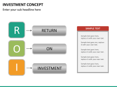 Investment concept PPT slide 19