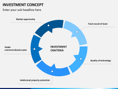 Investment concept PPT slide 4
