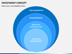 Investment concept PPT slide 6