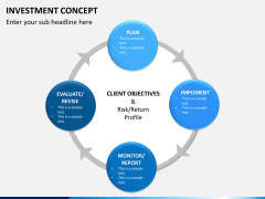 Investment concept PPT slide 7