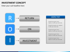 Investment concept PPT slide 9