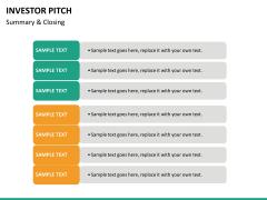Investor pitch PPT slide 94