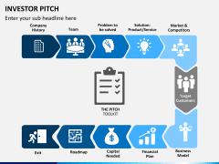 Investor pitch PPT slide 1
