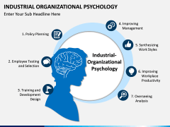 Industrial organizational psychology PPT slide 1