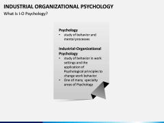 Industrial organizational psychology PPT slide 2