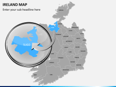 Ireland Map PPT slide 13