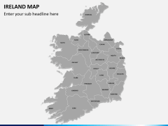 Ireland Map PPT slide 2
