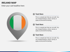 Ireland Map PPT slide 22