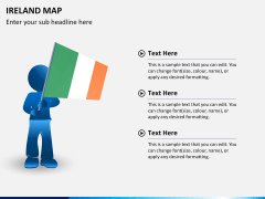 Ireland Map PPT slide 23