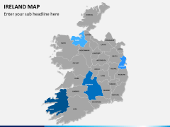 Ireland Map PPT slide 8