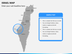 Israel Map PPT slide 10