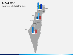 Israel Map PPT slide 14