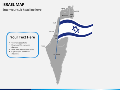 Israel Map PPT slide 18