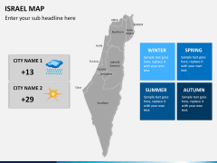 Israel Map PPT slide 19