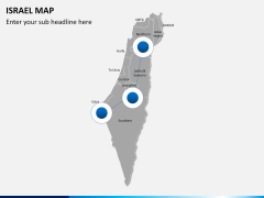 Israel Map PPT slide 4