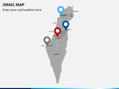 Israel Map PPT slide 6