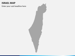 Israel Map PPT slide 7