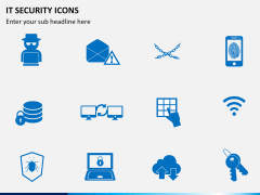 IT Security Icons PPT slide 3