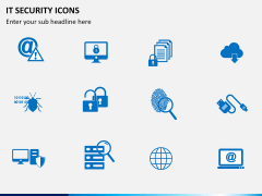 IT Security Icons PPT slide 4